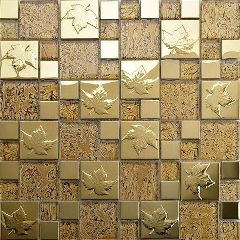 tile pattern puzzle kotor stainless steel glass mosaic tile tv background wall