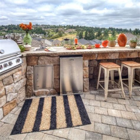 outside kitchen design ideas 95 cool outdoor kitchen designs digsdigs