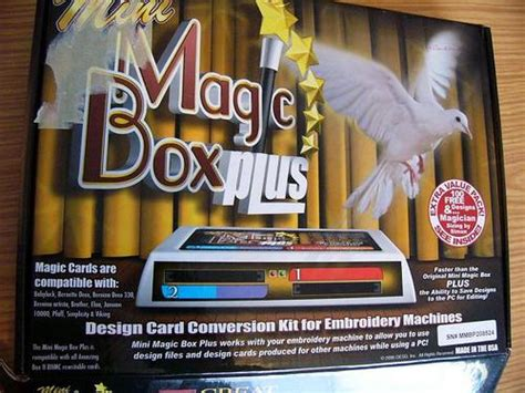 Mini Magic Bx machine embroidery mini magic box plus was listed for r3 000 00 on 29 oct at 23 31 by