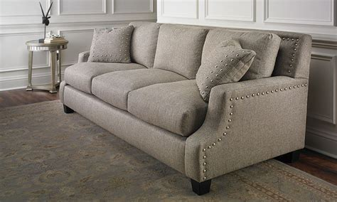 sofa outlet store nailhead sofa diana nailhead sofa the dump luxe furniture