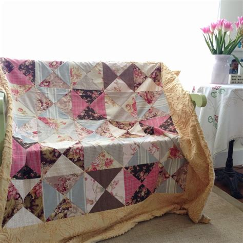 How To Quilt Fabric With Batting by No Batting Quilt Quilting In The