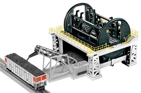 Coal Car Dumper by Rotary Coal Tipple Model Forum The Complete