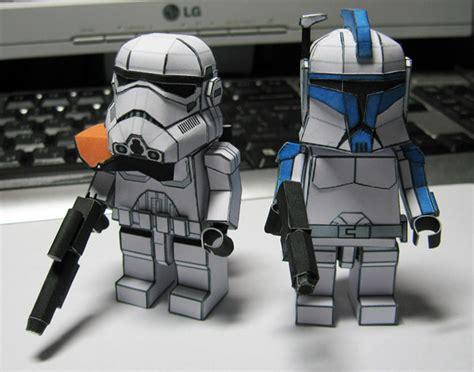 Origami Clone Trooper - wars clone wars origami 09 car interior design