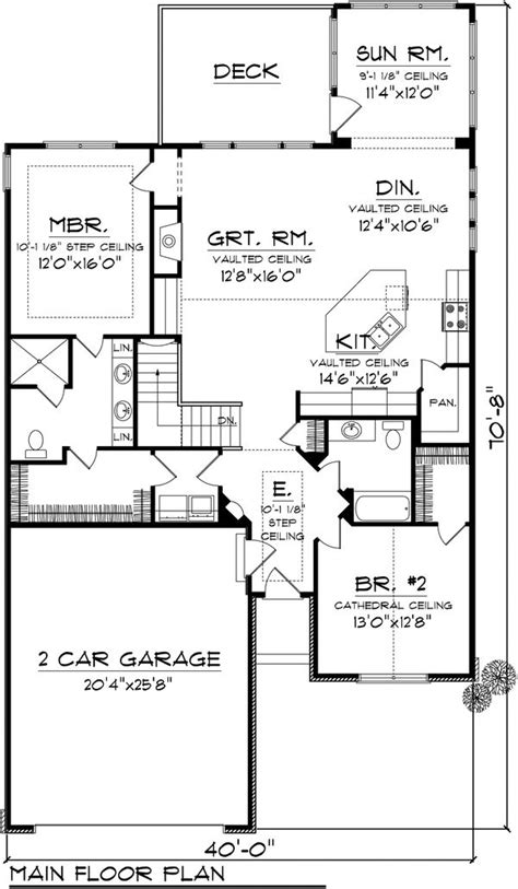 ranch style house plan 2 beds 1 75 baths 1662 sq ft plan