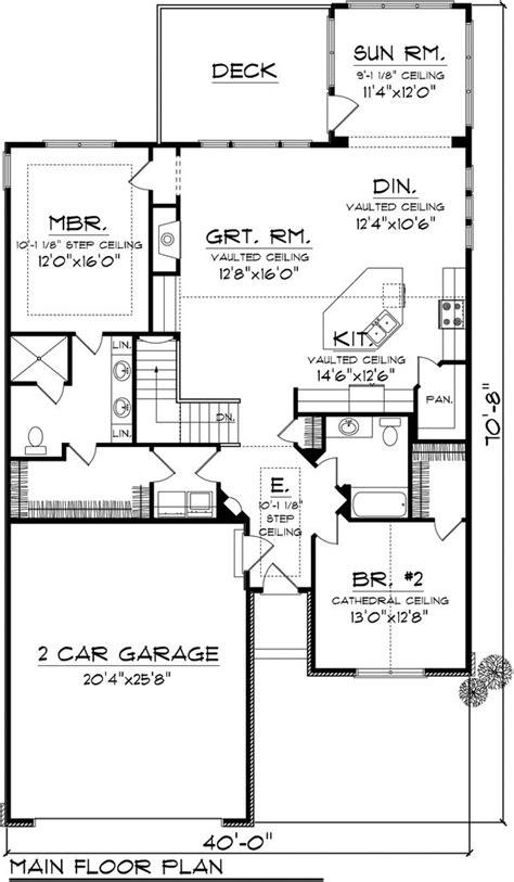 plans maison en photos 2018 ranch style house plan 2