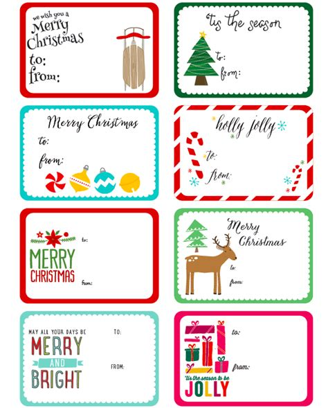 whimsical christmas labels  angie sandy  printable labels templates label design