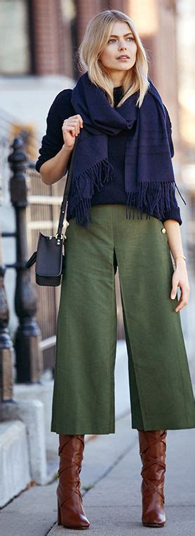 Culotes Pant winter culottes style inspiration