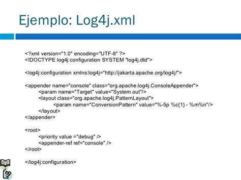 xml layout in log4j log4j 1 2 15 short manual