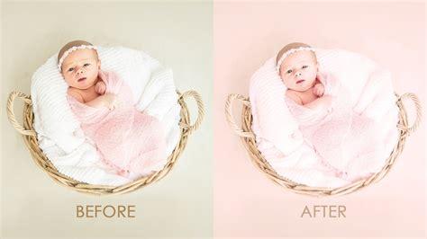 newborn colors newborn color processing baby photo editing photoshop