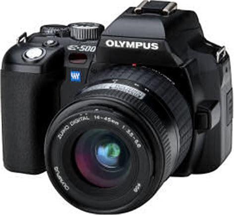 review : olympus e 500 digital slr camera