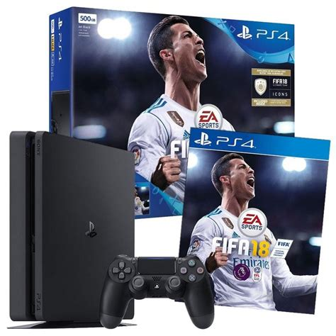 Ps4 Fifa 18 ps4 500gb fifa 18 ronaldo edition early access bundle by sony pegi rating 3