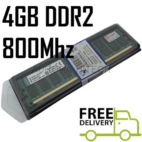 Memory Ram Pc Ddr2 4gb 4gb Kingston Desktop Pc Ddr2 Ram 8 End 10 25 2018 12 15 Am