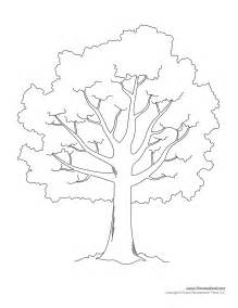 Tree Stencil Template by Tim De Vall Comics Printables For