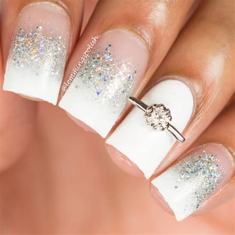 Wedding Nails by 35 Glamorous Wedding Nail Ideas For 2018 Best Bridal