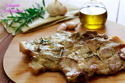 come cucinare la coppa di maiale fettine di coppa di maiale con aglio olio e rosmarino l
