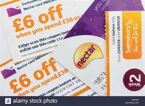 discount vouchers sainsburys nectar card with 163 6 discount vouchers when spending in a