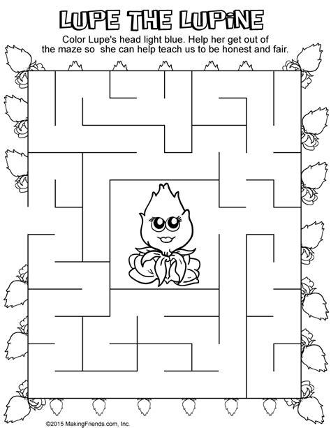 daisy light blue petal maze makingfriendsmakingfriends