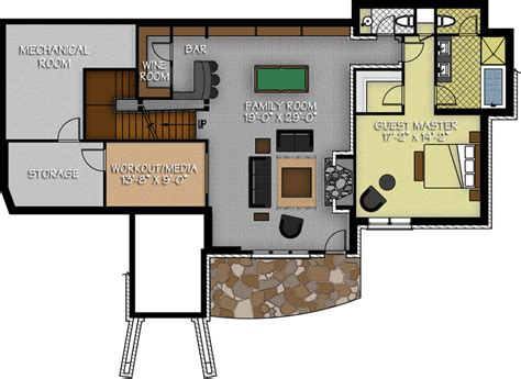 bar floor plans design the dakota ridge
