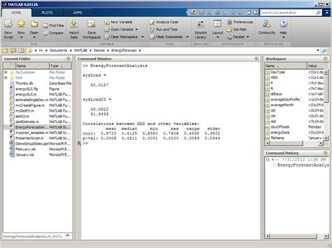 Mat Lab Help by The Matlab R2012b Desktop Part 1 Introduction To The Toolstrip 187 Loren On The Of Matlab
