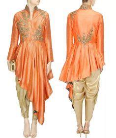 Celana Pop Fashion 0026w sva by sonam paras modi olive green kurta and printed dhoti pant set funk