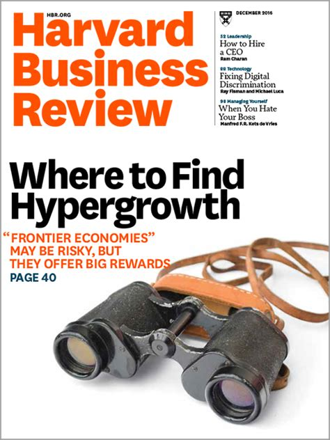 Harvard Business Review Hbr Creativity In Advertising harvard business review december 2016
