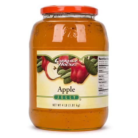 apple jelly  lb glass jar