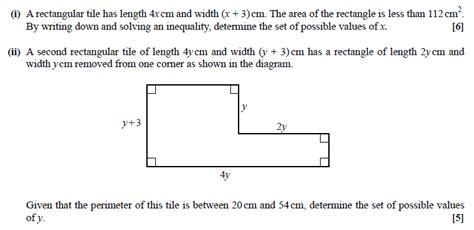 02 itf tutorial review questions exam questions quadratic inequalities examsolutions