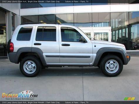 2002 Jeep Liberty Sport 2002 Jeep Liberty Sport 4x4 Bright Silver Metallic