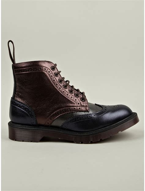 oxblood mens boots dr martens mens oxblood mie anthony boots in for