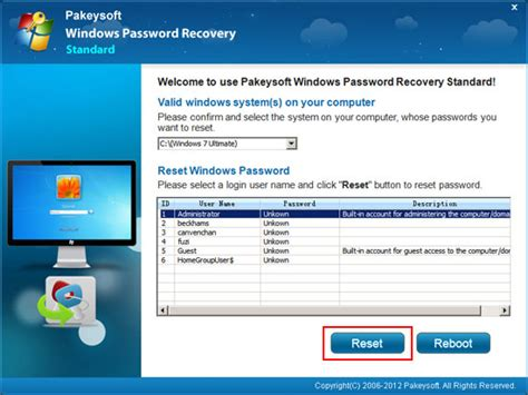 Windows Vista Boot Password Reset | how to create a windows 7 password reset disk