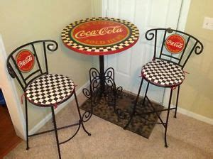 coca cola bistro and chairs set home exterior