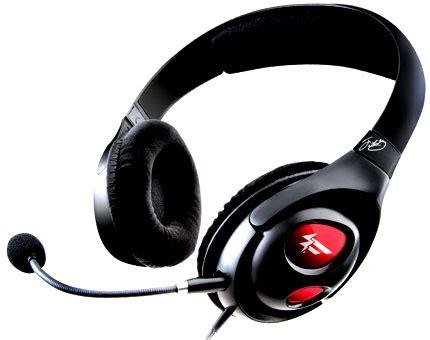 Headset Creative Fatal1ty Gaming Creative Fatal1ty Gaming Headset Headset For Pc Gaming By