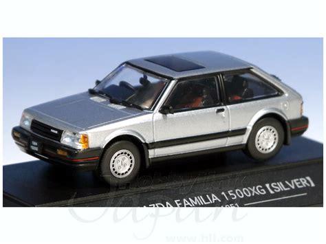 Sapi Model Mazda Familia 1 43 mazda familia 1984 1500xg silver by sapi models