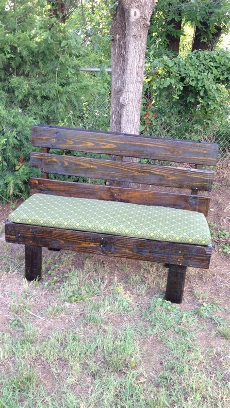 bench made out of pallets benches made with wood pallets pallet wood projects
