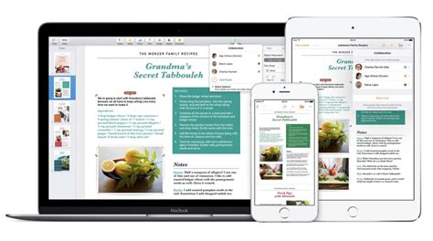 recipe template for apple pages how to make pages numbers and keynote open new blank