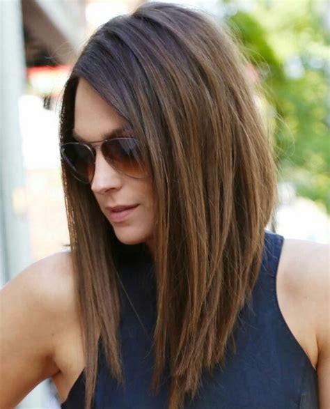 28 layered long bob hairstyles and lob haircuts 2018