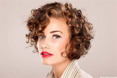 short hairstyles with curly bangs short curly hairstyles for women short hairstyles 2017