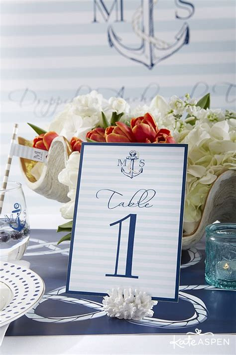 table card holders wedding template best 25 nautical table centerpieces ideas on