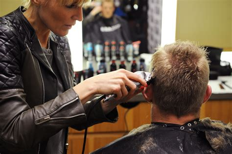 spiked up look actress j j watt gets a spiked up look using a new line of axe