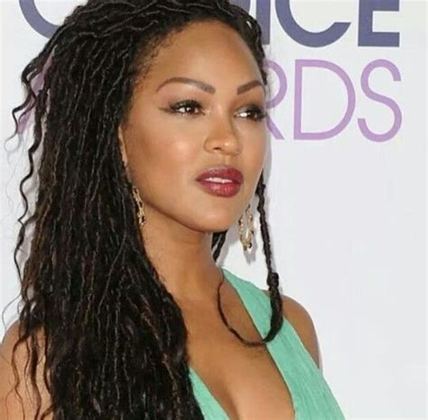 meagan good for goddess faux locs caign bellanaija january2016 meagan good goddess faux locs hair braids twists