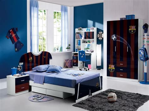 schlafzimmer jungs soccer bedroom decor ideas for boys inertiahome