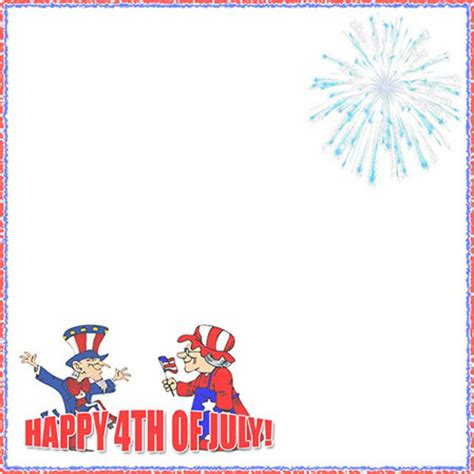 4th of july free clip 4th of july clip borders 101 clip