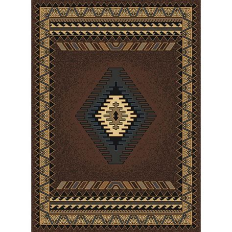 tuscan area rugs united weavers tuscan brown 5 ft 3 in x 7 ft 2 in area rug 940 27050 58 the home depot