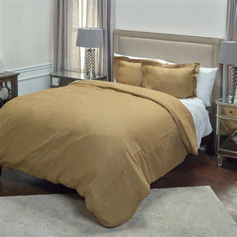 khaki bedding rizzy home khaki solid pattern queen linen duvet bedding
