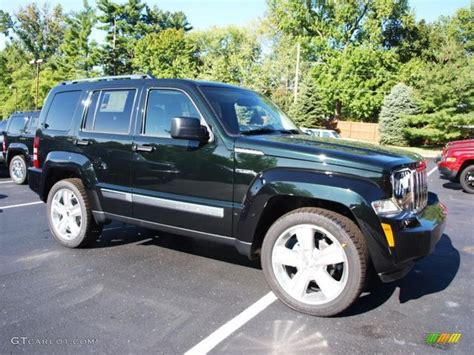 green jeep liberty 2012 2012 black forest green pearl jeep liberty jet 4x4