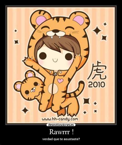 imagenes de tigres kawaii rawrrr desmotivaciones