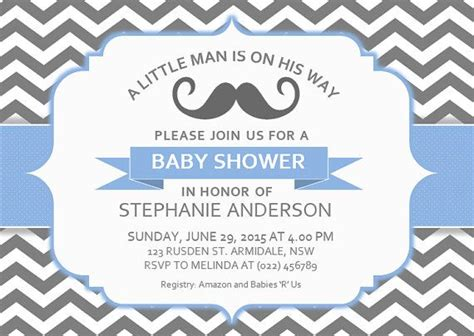 baby shower card template microsoft word diy printable ms word baby shower invitation template by