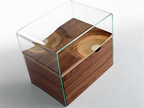comodino vetro comodini moderni in vetro 2017 le proposte per la