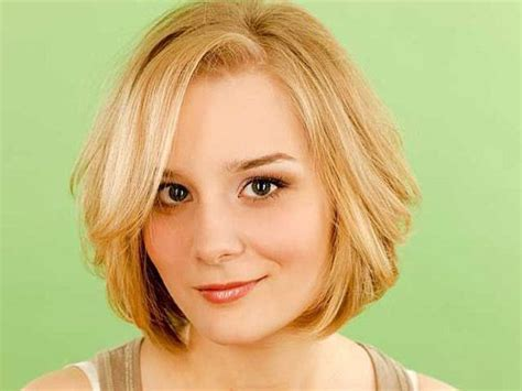 cute chin length haircuts for round faces haircuts for round faces the 25 best cute short haircuts