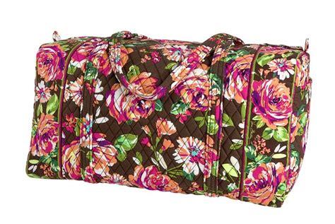english rose pattern vera bradley large duffel